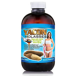 Yacon Molasses With 100 Organic Syrup Probiotic Fiber