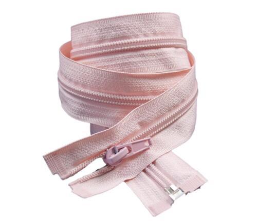 Reißverschluss 5mm teilbar Kunststoff 65cm lang TOP Farbauswahl