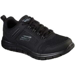Black Lace Up Trainers Shoes Size UK