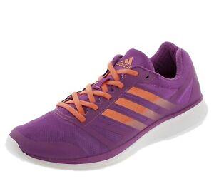 Detalles de Adidas Performance Mujer Ligero Speedster 3 Zapatillas Running  Violeta