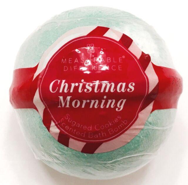 Christmas Bath Bombs.Bath Body Works Fizzy Bomb Christmas Morning