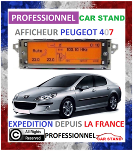 Afficheur-Multifonction-Peugeot-407-LCD-Multifunctional-Display-Screen-407