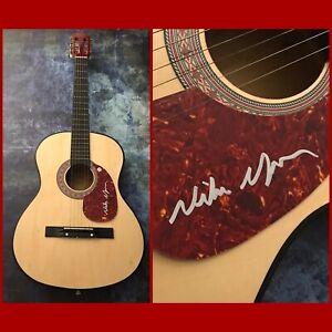 GFA Good Time & Paradise to Me NIKO MOON Signed Acoustic Guitar PROOF N2 COA