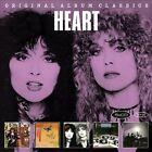 Original Album Classics [Slipcase] by Heart (CD, Sep-2013, 5 Discs, Epic)