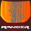 Aufkleber-Ranger-Motorhaube-passt-fuer-Ranger-2AB-Farbspur-4x4-Sticker-4-x-4-US Indexbild 11