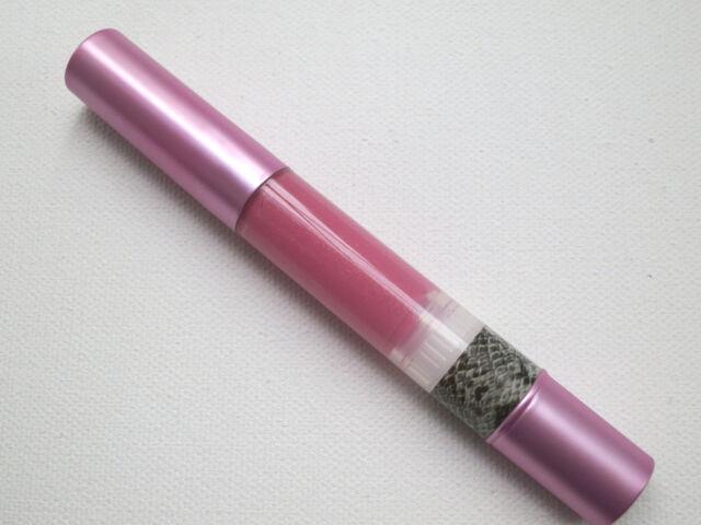 Mally Beauty Volumizing Lip Gloss in Flirty ( a pink w gold ) Full Size - New