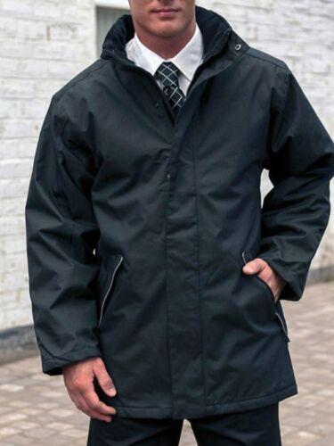 BLACK NEW Mens professional waterproof windproof coat jacket Size Medium