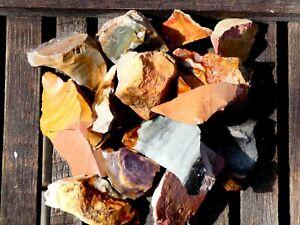 Natural DESERT JASPER Rough - 2000 CARAT Lot- Gemstone Rough Rocks, Good Color