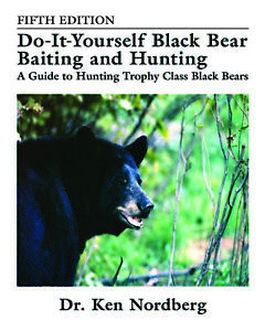 Dr-Nordberg-039-s-Do-It-Yourself-Black-Bear-Baiting-amp-Hunting-5th-Edition-Paperback