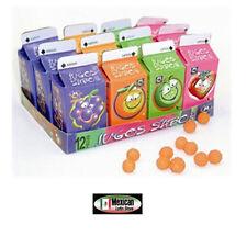 Jugos  de Sabores Anahuac (Sour candy Balls 4 flavors) 12pcs-3.3oz box Candy