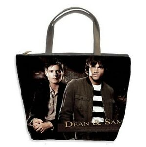 Image Is Loading New Dean Sam Supernatural Handbags Bucket Bag Gift