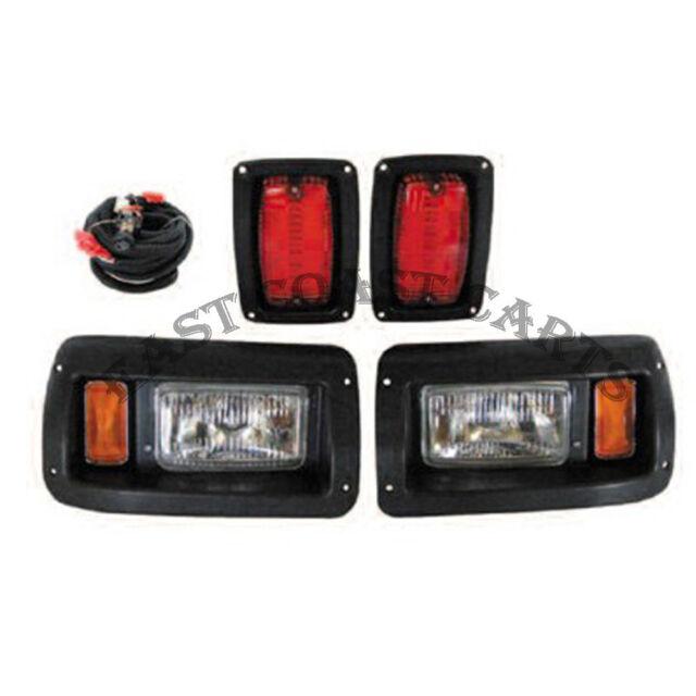 Club Car DS LIGHT KIT Adjustable Headlight  w/LED Taillight Golf Cart light kit