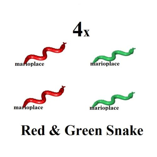 LEGO Red & Green Snake (30115) Animal NEW LOT OF 4