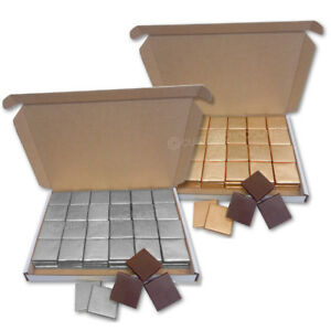 100-Quality-Chocolate-Squares-Gold-Silver-Create-Your-Own-Wedding-Party-favours