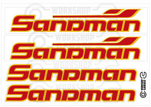 Holden-VF-SANDMAN-RED-WITH-ORANGE-MEGA-SIZE-Decal-4-LARGE-Stickers