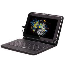 """iRULU HD 9"""" 8GB Google Android 4.4 Quad Core WIFI Tablet PC w/ Keyboard Earphone"""