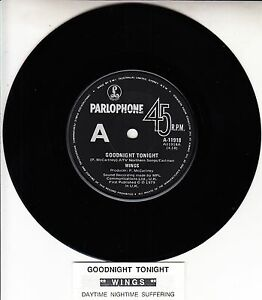 PAUL-McCARTNEY-amp-WINGS-Goodnight-Tonight-BEATLES-record-juke-box-title-strip