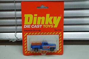 DINKY MATCHBOX SIZE  No 110 STEPSIDE PICKUP IN ORIGINAL PACKAGING - <span itemprop='availableAtOrFrom'>Essex, United Kingdom</span> - DINKY MATCHBOX SIZE  No 110 STEPSIDE PICKUP IN ORIGINAL PACKAGING - <span itemprop='availableAtOrFrom'>Essex, United Kingdom</span>