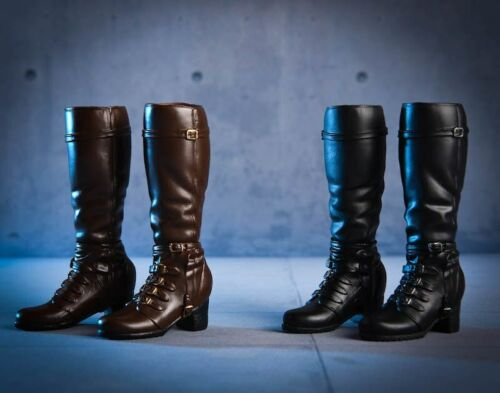1//6 Scale Accessories vstoys 18X02 Long Short Combat Leather Boots//Shoes Dual