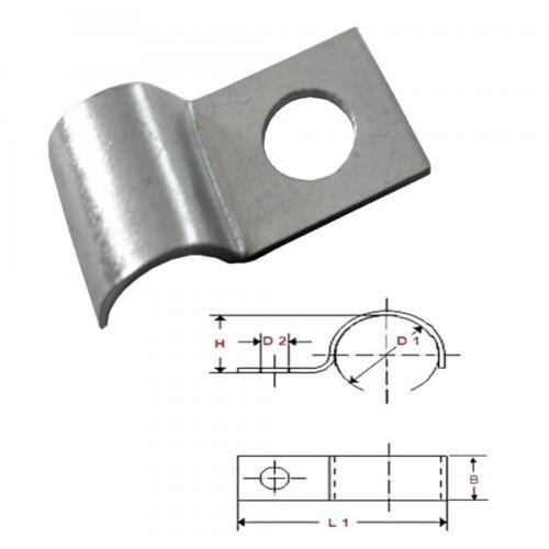 0.19€//1Stk Kabelfixierung für Kabel bis Ø 10 mm 25 x Kabelschelle