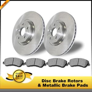 Rear Disc Brake Rotors /& Metallic Pads For Toyota Prius Toyota Prius Plug-In