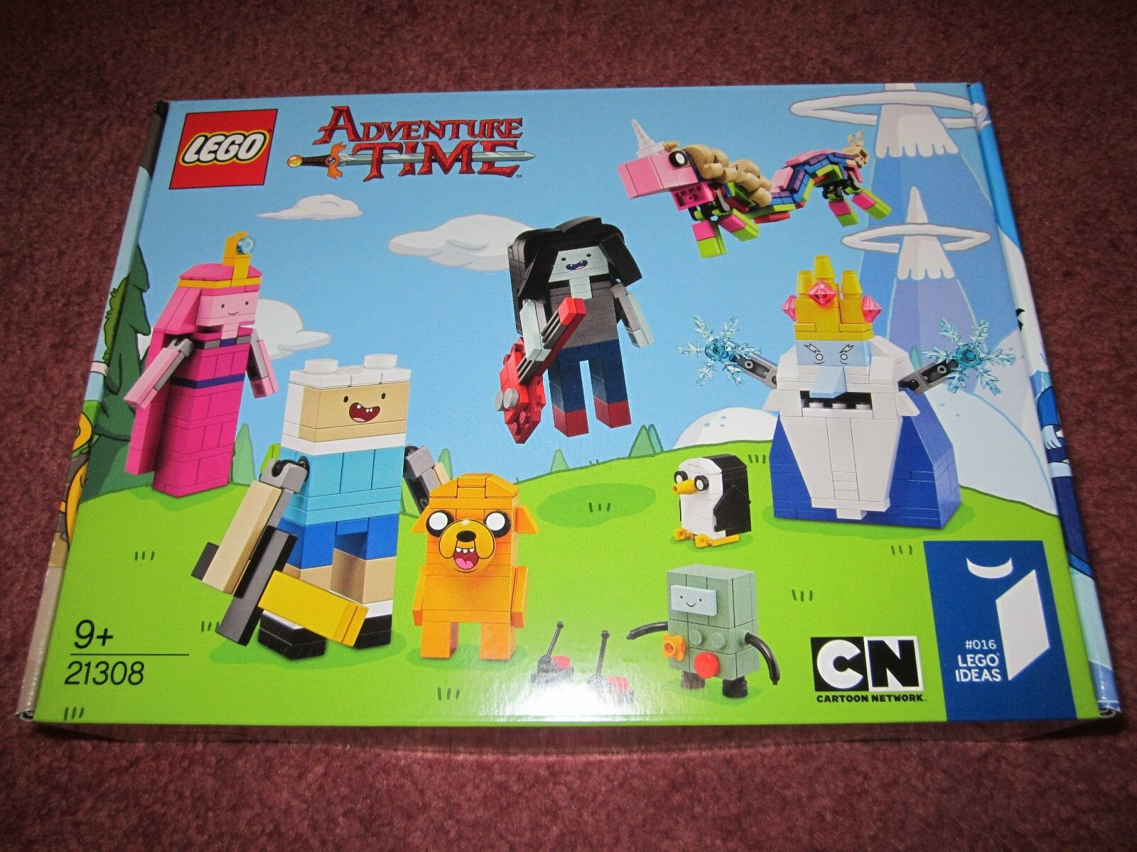 LEGO IDEAS ADVENTURE TIME 21308 - NEW BOXED SEALED