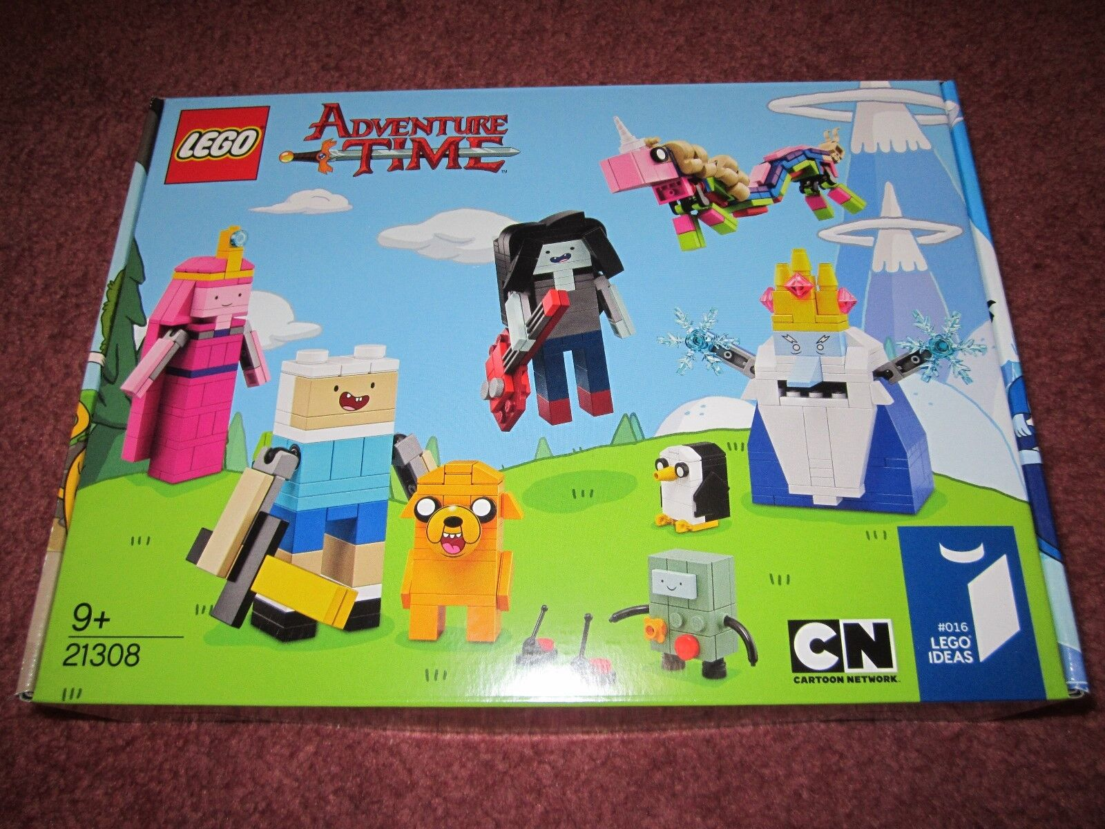 Lego Ideas Adventure Time 21308-Nuevo en Caja Sellado