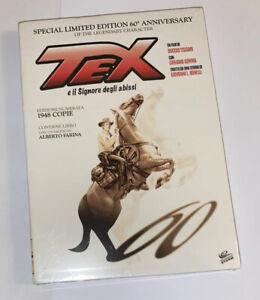 TEX E IL SIGNORE DEGLI ABISSI RARO DVD EDIZIONE LIMITATA SIGILLATO
