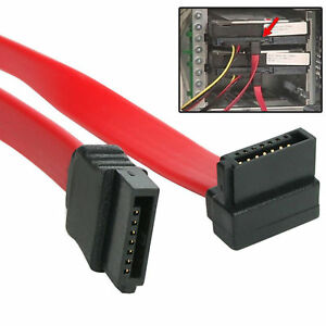 15CM-Right-Angled-Sata-to-Sata-HDD-Hard-Drive-CD-DVD-Disk-Cable-For-PC-CPU-UK