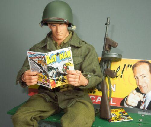 Échelle 1//6 Comics-Lot de 3 Guerre Mondiale 2 ère Couvre Batman Capt America Superman