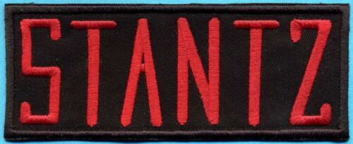 Ghostbusters Embroidered Iron-On Name Tag Patch STANTZ