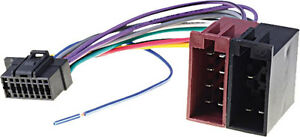 Sony-car-radio-stereo-16-pin-Iso-Cdx-Mex-wiring-harness-loom-lead-wire-2013-on