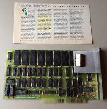 Microway FlickerFixer For Amiga 2000 with VGA adapter