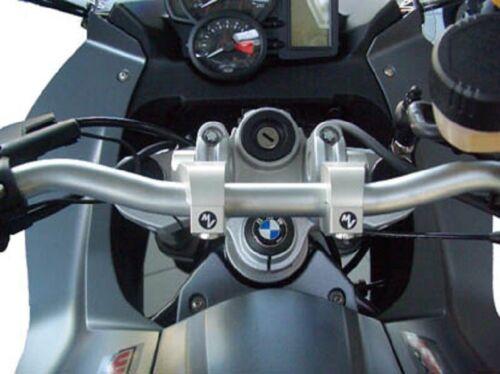 BMW K100RS K 100 RS Rohrlenkeradapter verstellbar Lenkererhöhung schwarz ABE