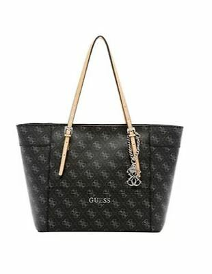 Guess Women's Delaney Classic Tote Bag (Black)