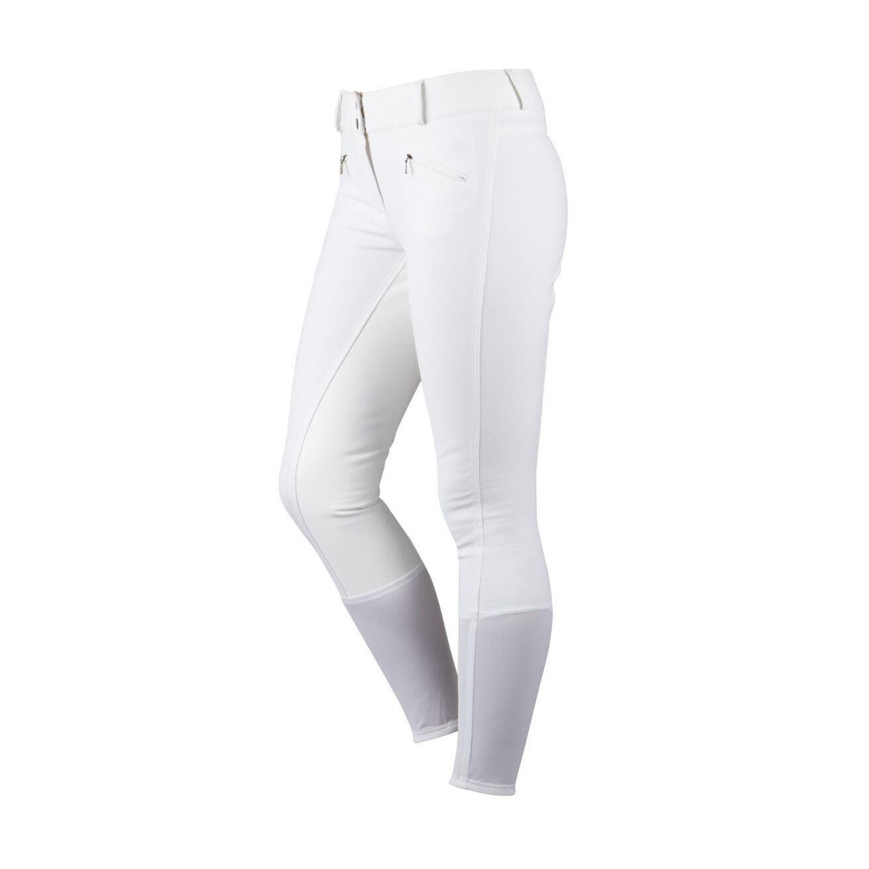 Dublin Shape-It Performance Full Seat Breeches, Beige or White, Super Quality