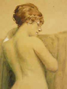 Fred-money-Raoul-Billon-aka-1882-1956-Model-Posing-Naked-de-Dos-Period-1910