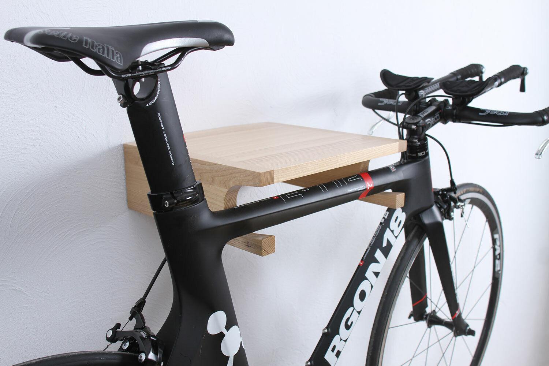 Design legno bicicletta supporto a parete vari Coloreeeeei 35 x 35 x 12 cm 20 kg ruota
