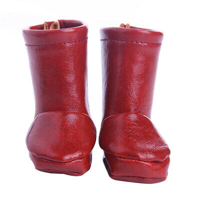 MagiDeal Lovely Doll PU Leather Shoes for AG American Doll 18inch Doll Boots