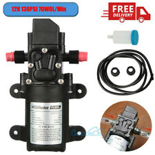 130psi High Pressure Rv Electric Diaphragm Water Pump 12v Max Self Priming 70w