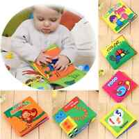 Educational Intelligence Development Soft Cloth Cognize Book Toy For Kids Baby