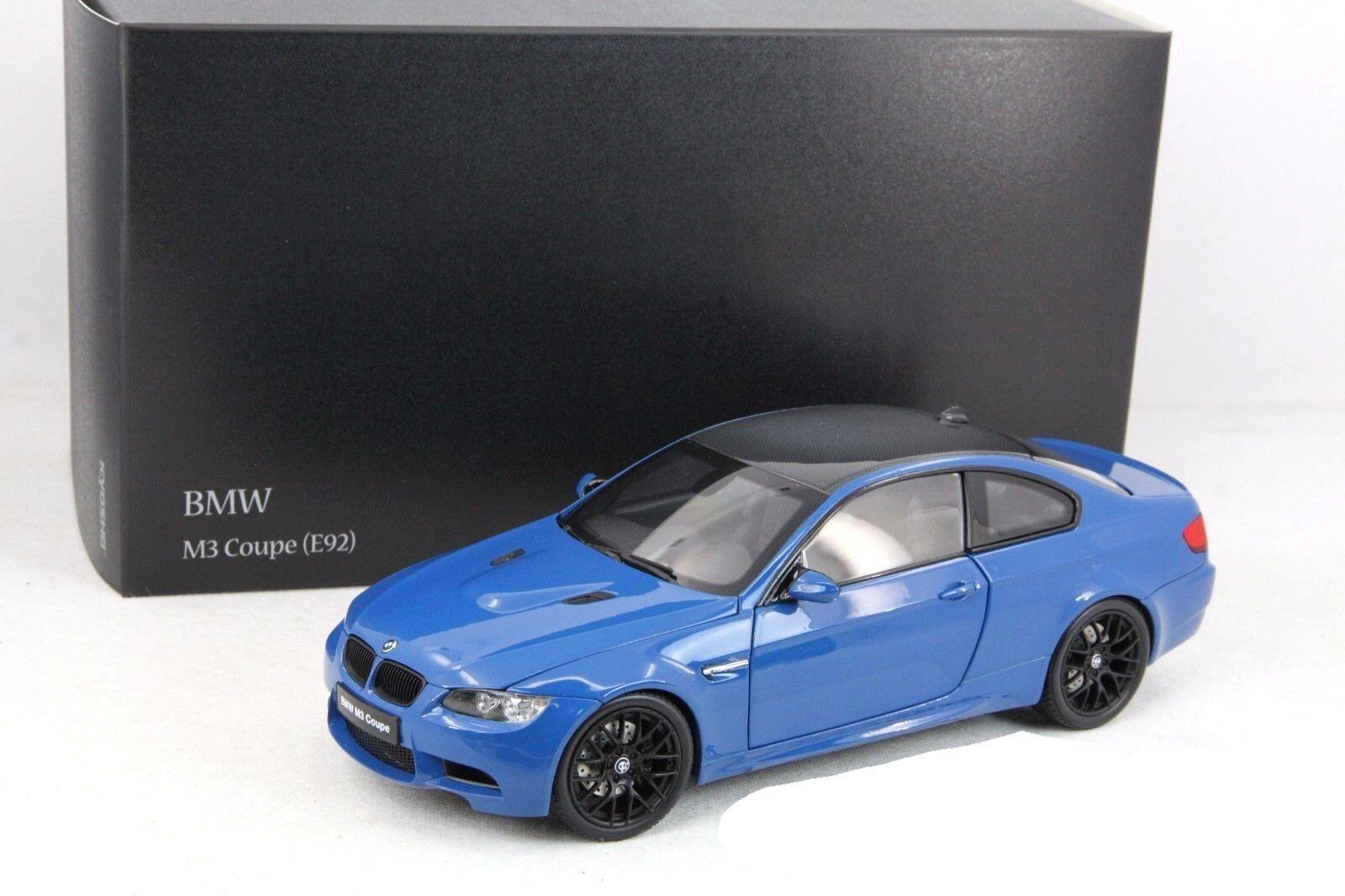 Bmw m3 coupé (e92m kyosho 1,18) nein 08734lbl auto - modell
