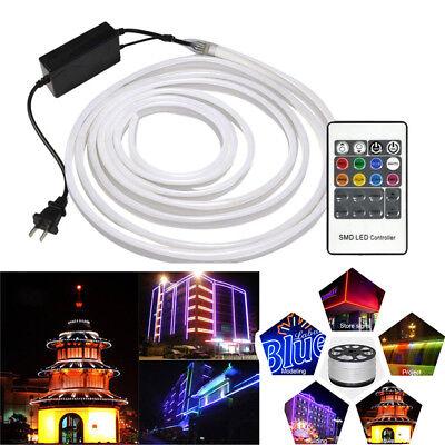 LED Strip RGB Neon Flex Light Rope Waterproof IP68 LED Tape 220V TV Dimmer  Tape | eBay