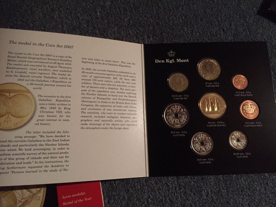 Danmark, mønter, 2007