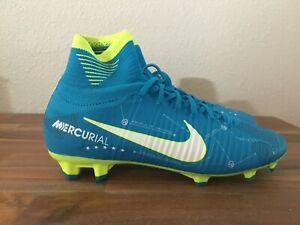 newest 3156a e0dd2 Details about Nike Jr Mercurial Superfly DF Neymar Jr FG Soccer Cleats  921483-400 Size 4.5Y