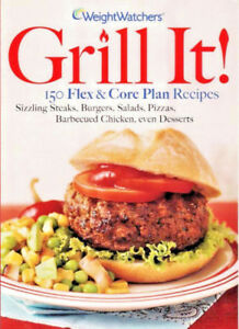 Weight Watchers Grill It Grilling Cookbook 150 Recipes Barbecue Diet Plan Ebay
