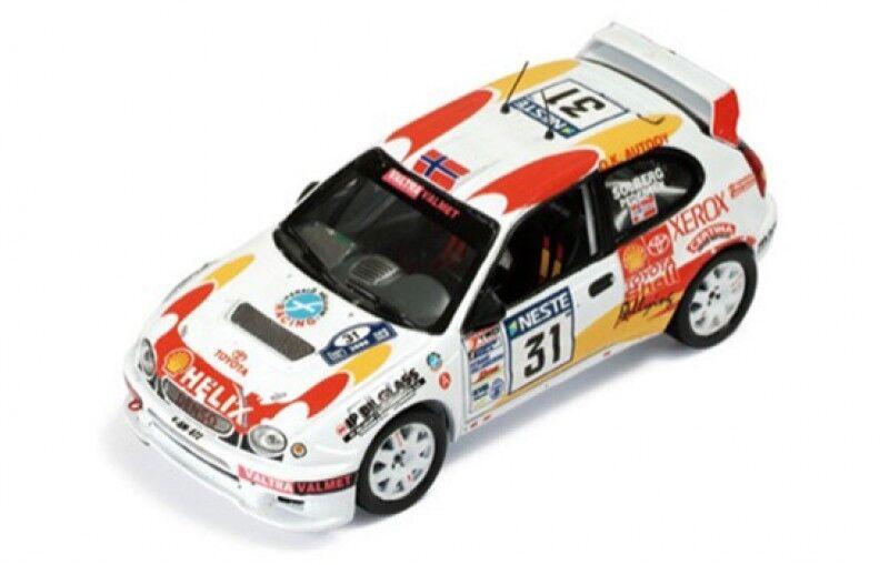 1 43 toyota corlla WRC SHELL HELIX Rallye Finlande 2000 H. Solberg