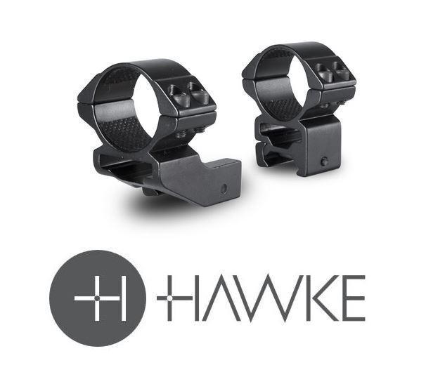 Hawke 2  Reach hacia adelante 30mm 2 pieza Weaver Alta