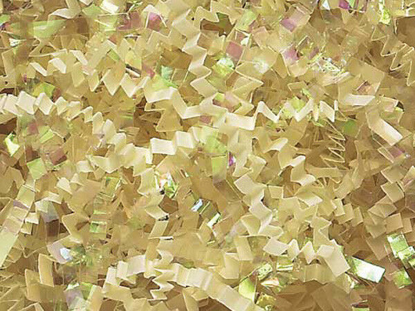 Boxes 10 LB Crinkle Cut Paper~French Vanilla~Filler for Packing Gift Baskets