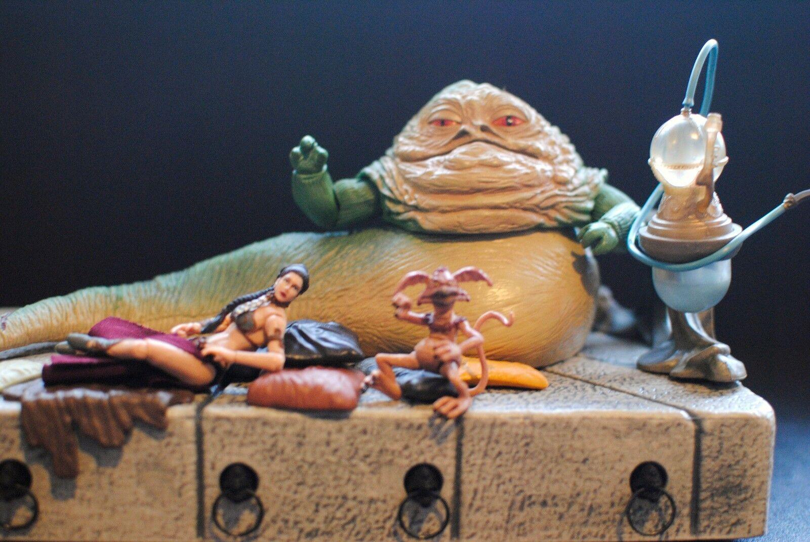 Star Wars Jabba the Hutt Throne Huka Palace ROTJ ROTJ ROTJ VC64 Slave Princess Leia Figure a37d80